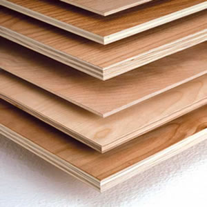 Multiple Sheets of Plywood